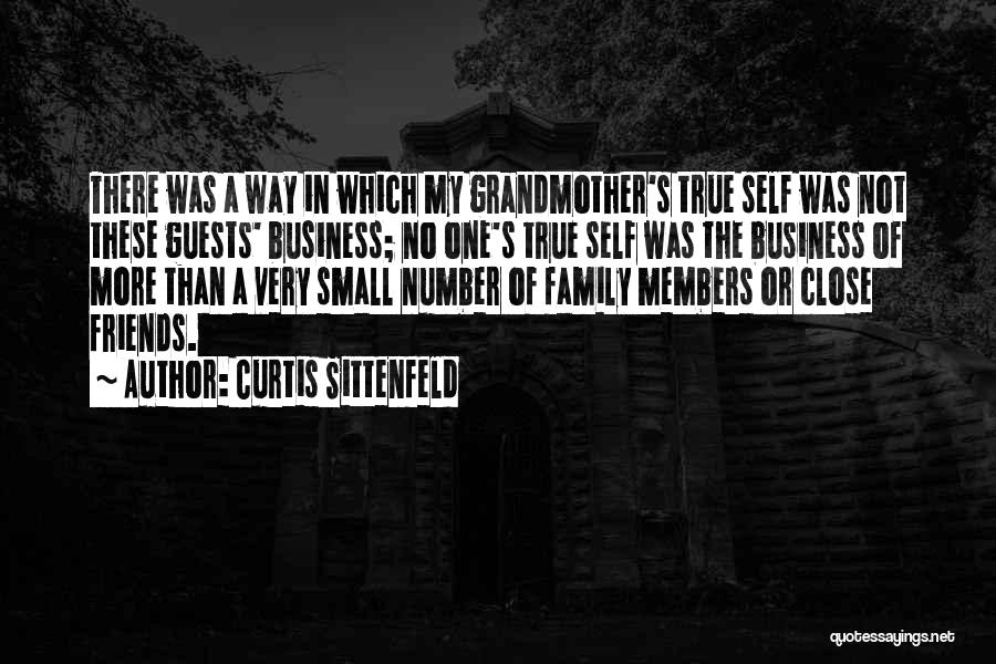 Small Family Business Quotes By Curtis Sittenfeld