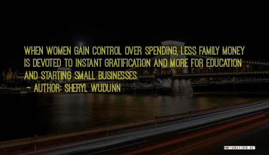 Small Family Business Quotes By Sheryl WuDunn