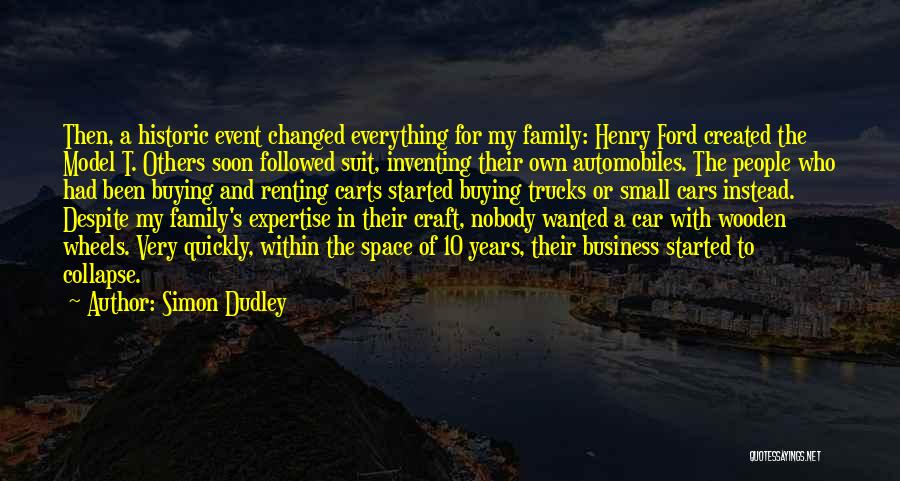 Small Family Business Quotes By Simon Dudley