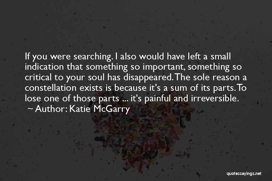 Small Parts Quotes By Katie McGarry