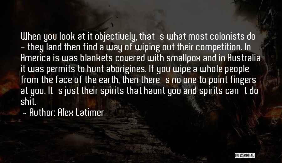 Smallpox Quotes By Alex Latimer