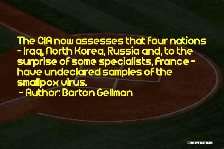 Smallpox Quotes By Barton Gellman
