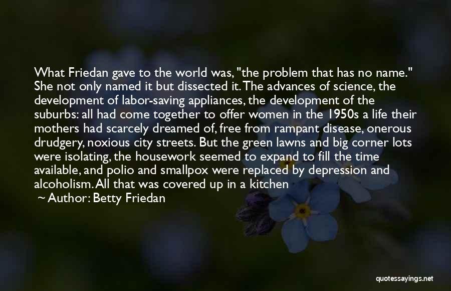 Smallpox Quotes By Betty Friedan