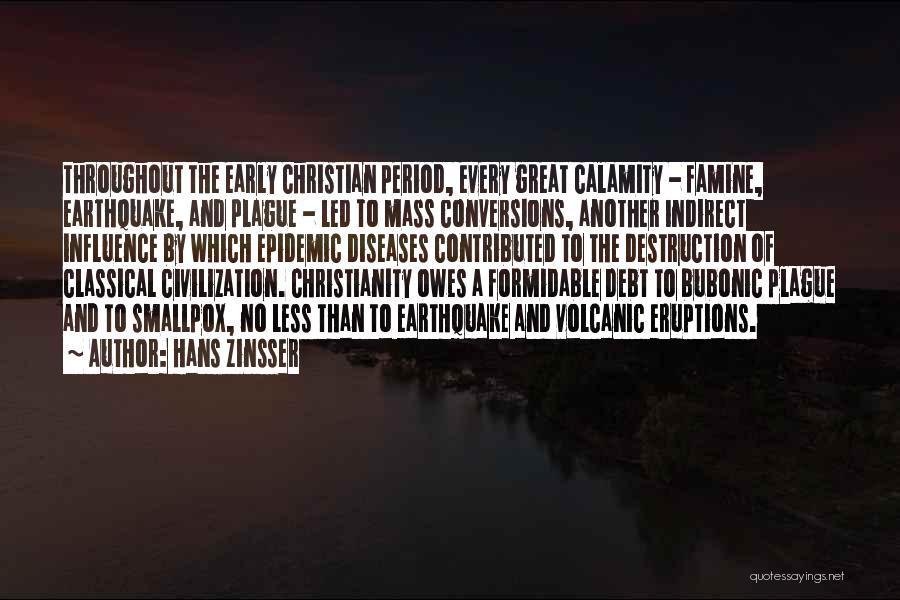 Smallpox Quotes By Hans Zinsser