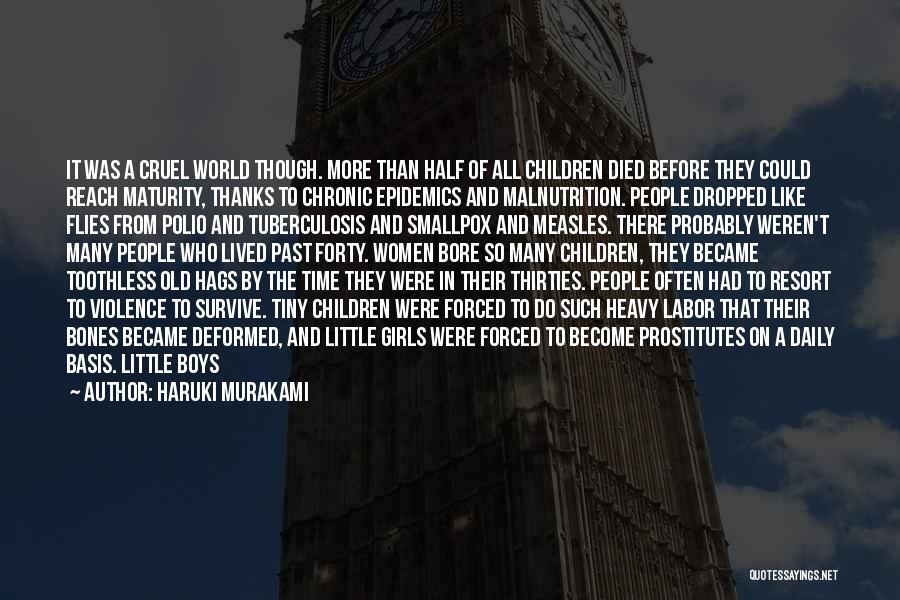 Smallpox Quotes By Haruki Murakami