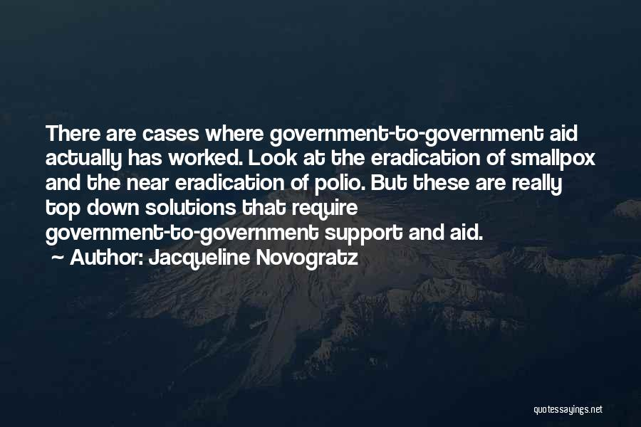 Smallpox Quotes By Jacqueline Novogratz