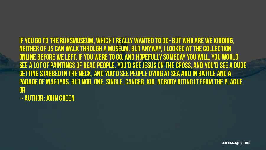 Smallpox Quotes By John Green