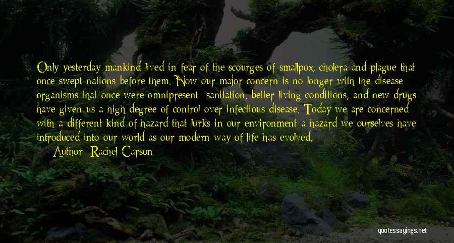 Smallpox Quotes By Rachel Carson