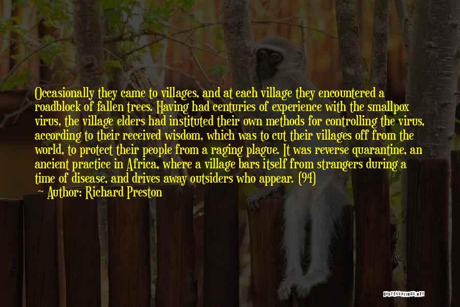 Smallpox Quotes By Richard Preston
