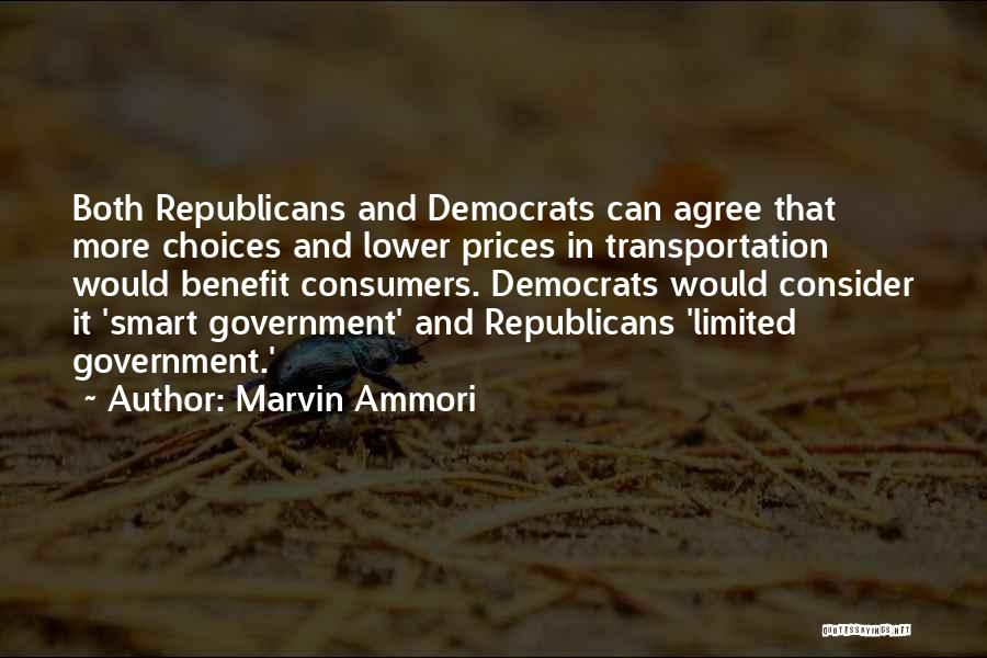 Smart Choices Quotes By Marvin Ammori