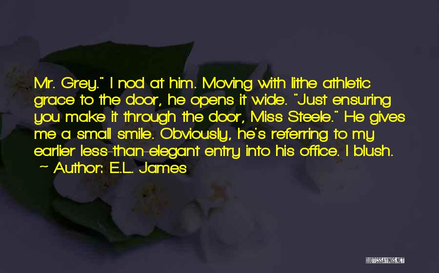Smile With You Quotes By E.L. James