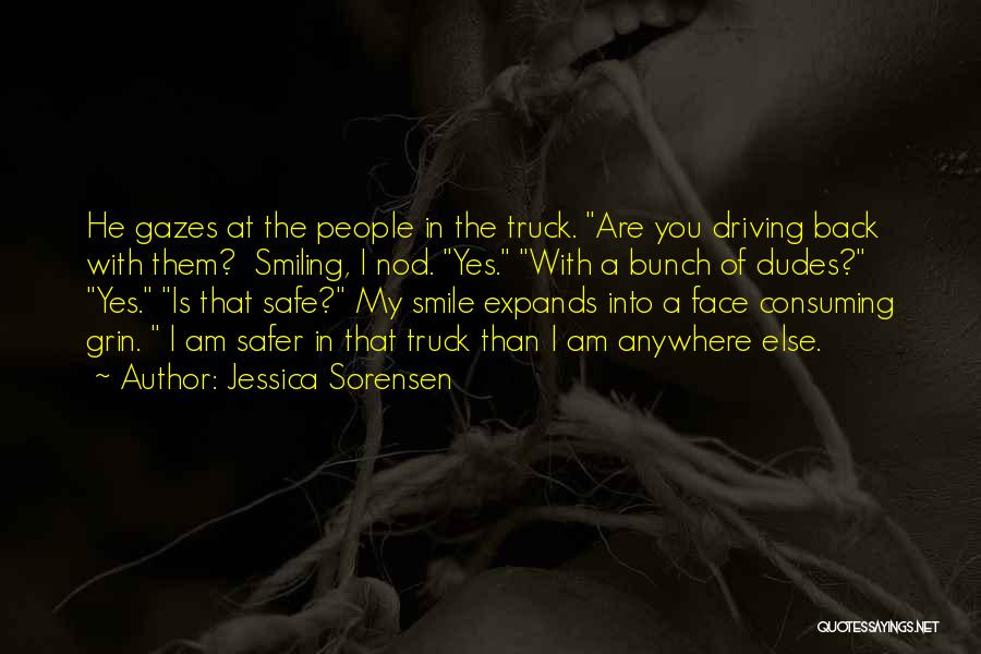 Smile With You Quotes By Jessica Sorensen