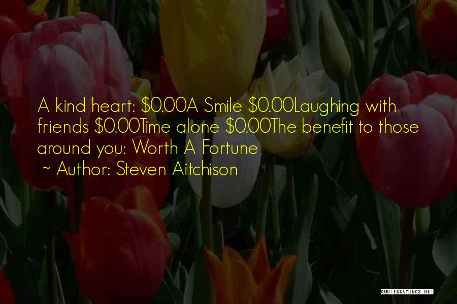 Smile With You Quotes By Steven Aitchison