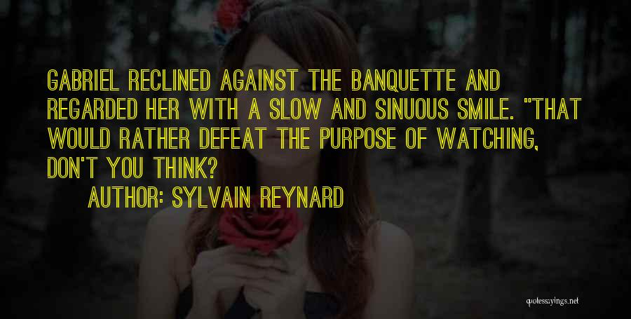 Smile With You Quotes By Sylvain Reynard