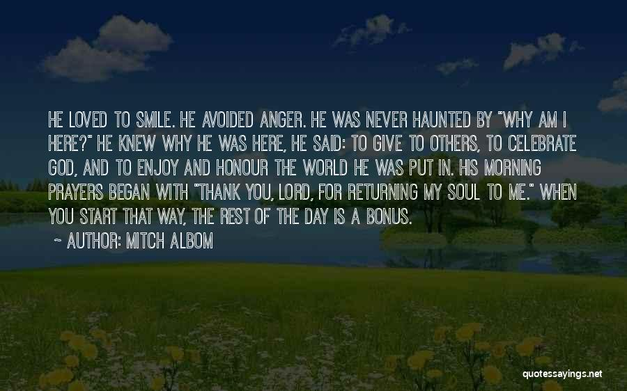 Smile You Are Loved Quotes By Mitch Albom