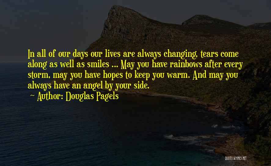 Smiles And Sadness Quotes By Douglas Pagels