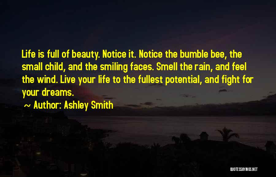 Smiling And Beauty Quotes By Ashley Smith