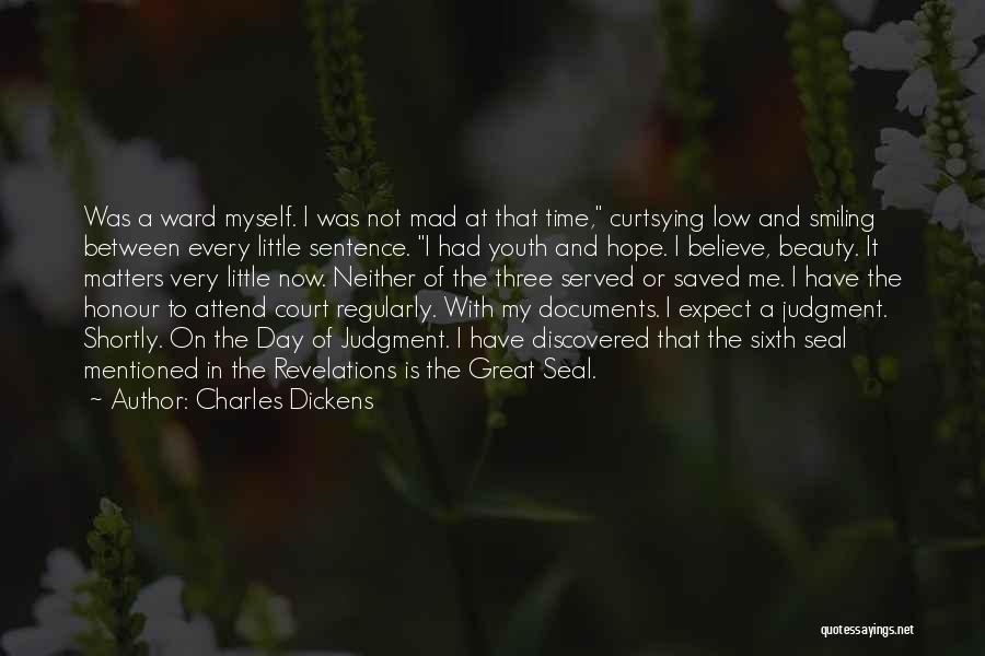 Smiling And Beauty Quotes By Charles Dickens