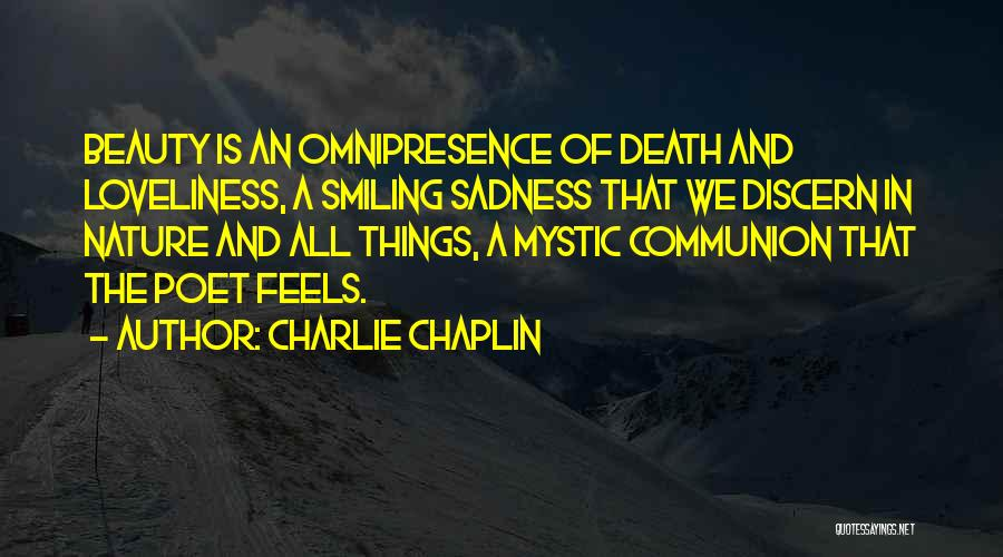 Smiling And Beauty Quotes By Charlie Chaplin