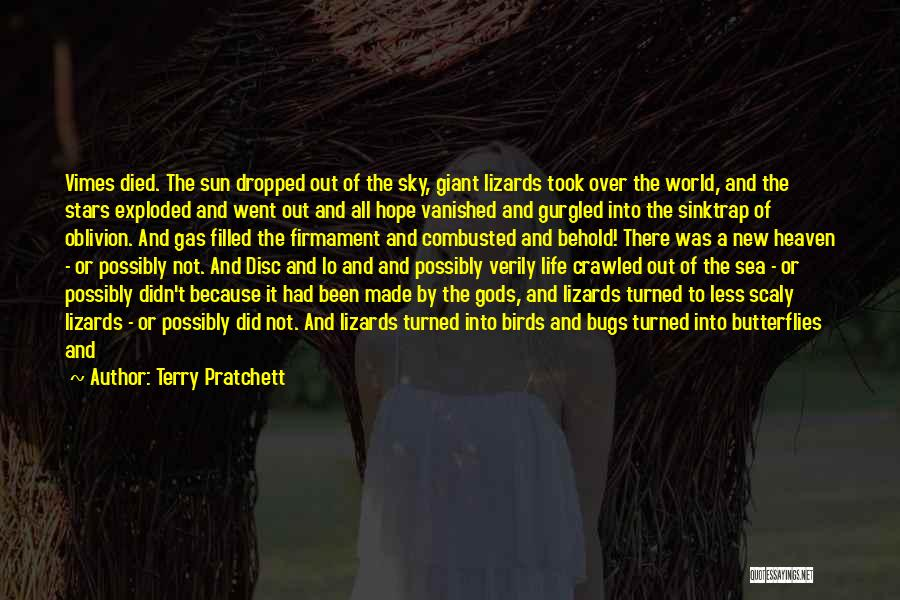 Smiling Because Of You Quotes By Terry Pratchett