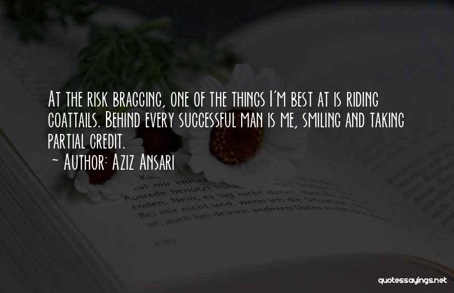 Smiling Best Quotes By Aziz Ansari