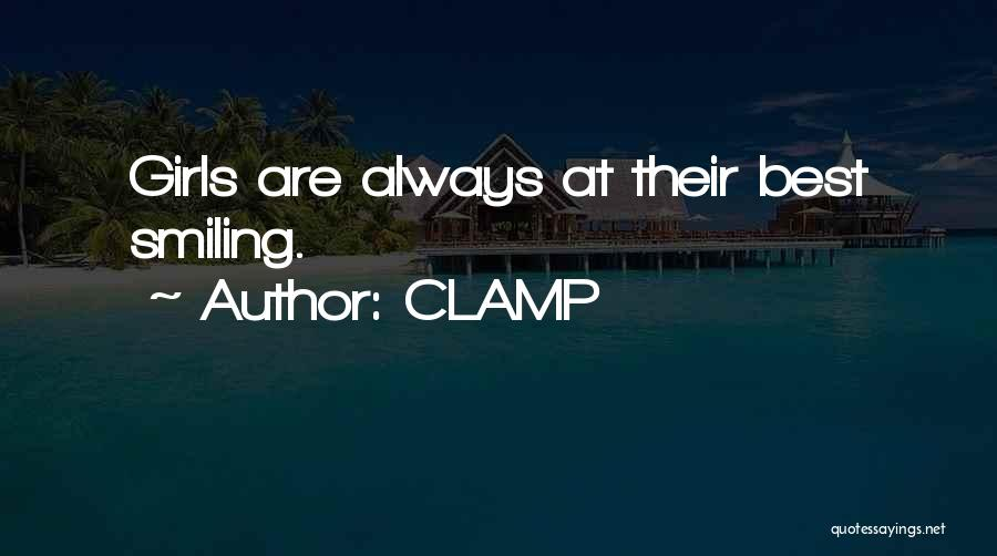 Smiling Best Quotes By CLAMP