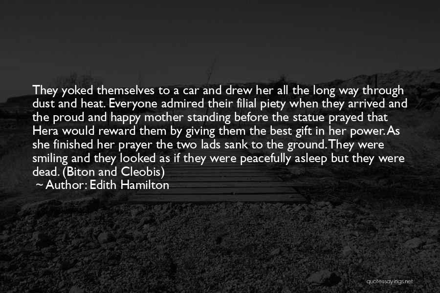 Smiling Best Quotes By Edith Hamilton
