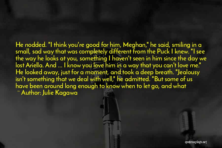 Smiling Best Quotes By Julie Kagawa