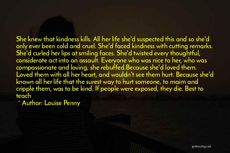Smiling Best Quotes By Louise Penny