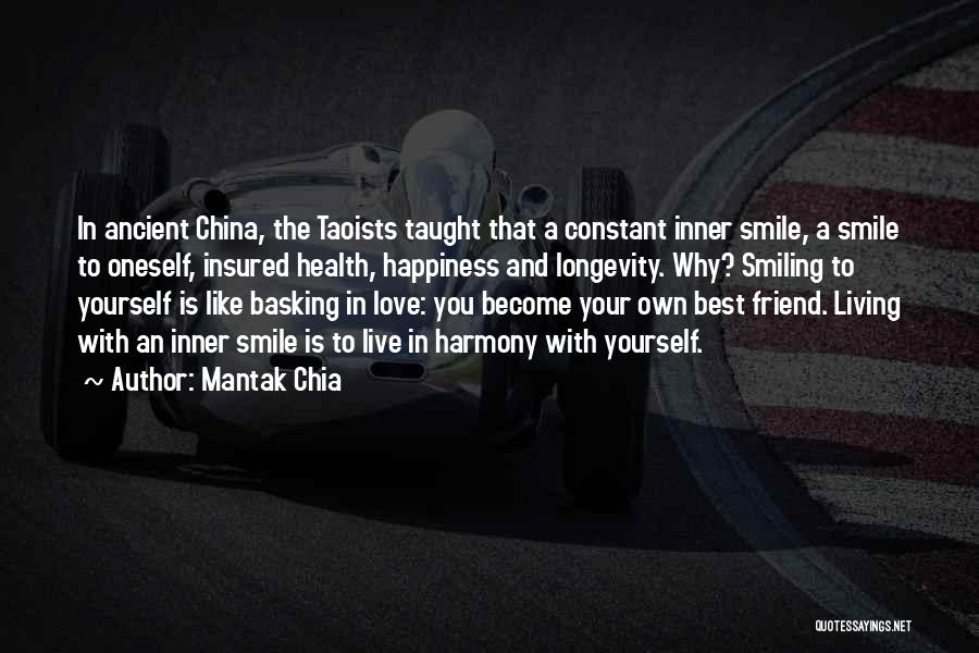 Smiling Best Quotes By Mantak Chia