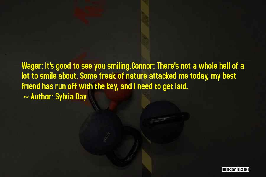 Smiling Best Quotes By Sylvia Day