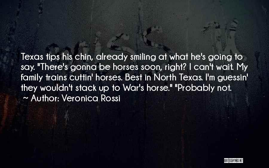 Smiling Best Quotes By Veronica Rossi
