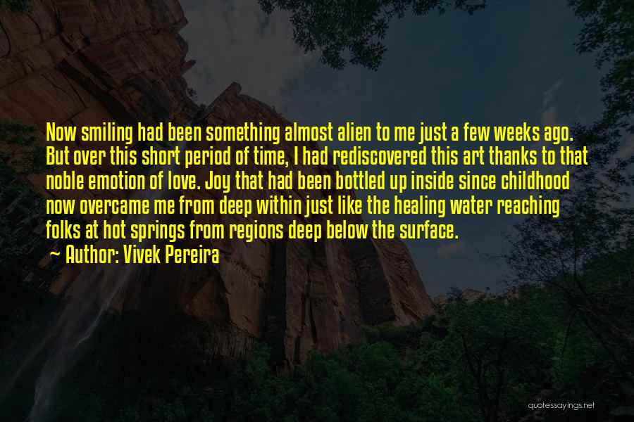 Smiling Best Quotes By Vivek Pereira