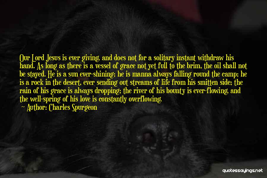 Smitten Love Quotes By Charles Spurgeon