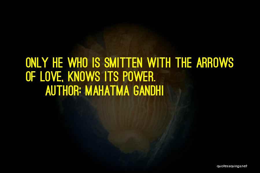 Smitten Love Quotes By Mahatma Gandhi
