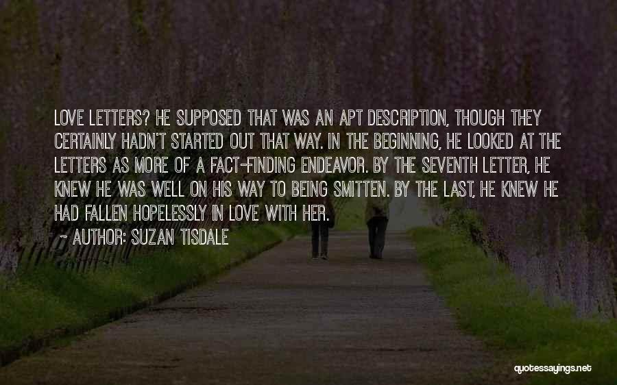 Smitten Love Quotes By Suzan Tisdale