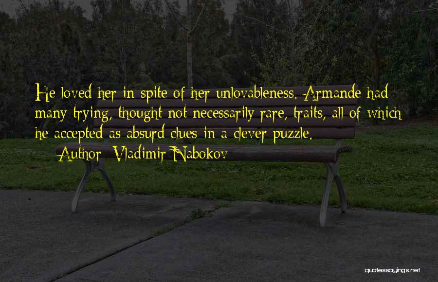 Smitten Love Quotes By Vladimir Nabokov