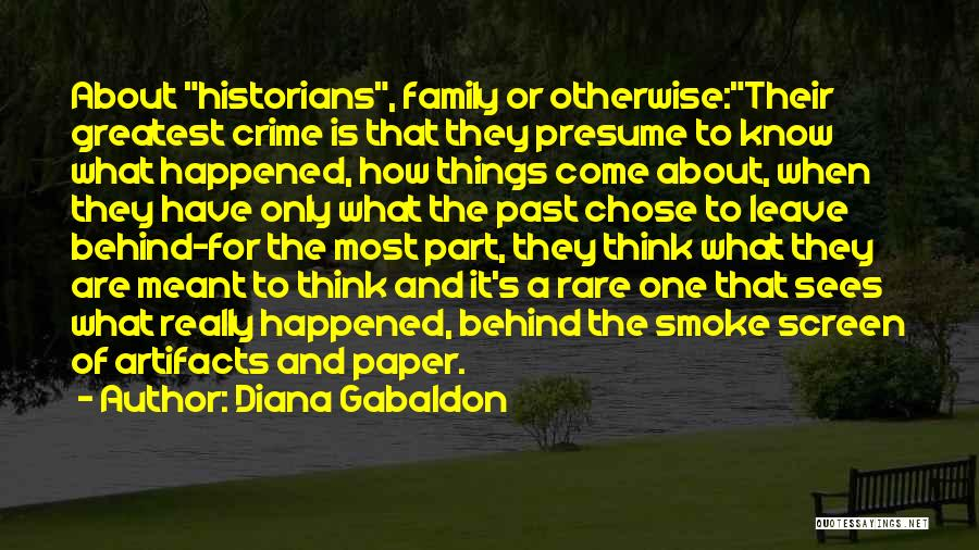 Smoke Screen Quotes By Diana Gabaldon