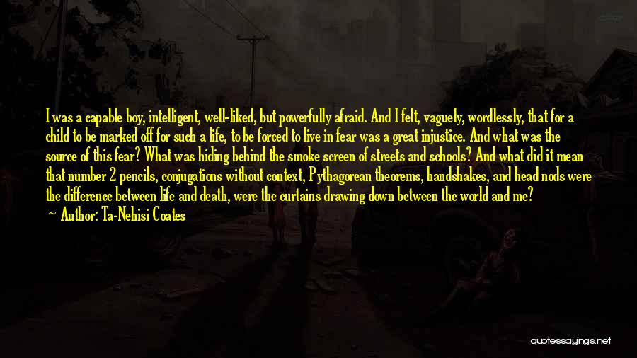 Smoke Screen Quotes By Ta-Nehisi Coates