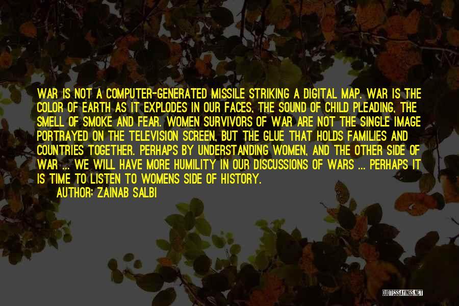 Smoke Screen Quotes By Zainab Salbi
