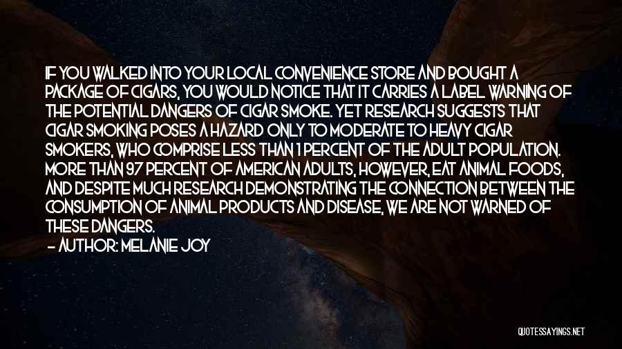Smoking Meat Quotes By Melanie Joy