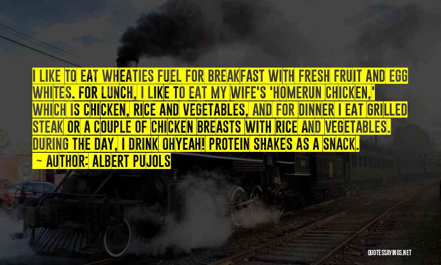Snack Off Quotes By Albert Pujols
