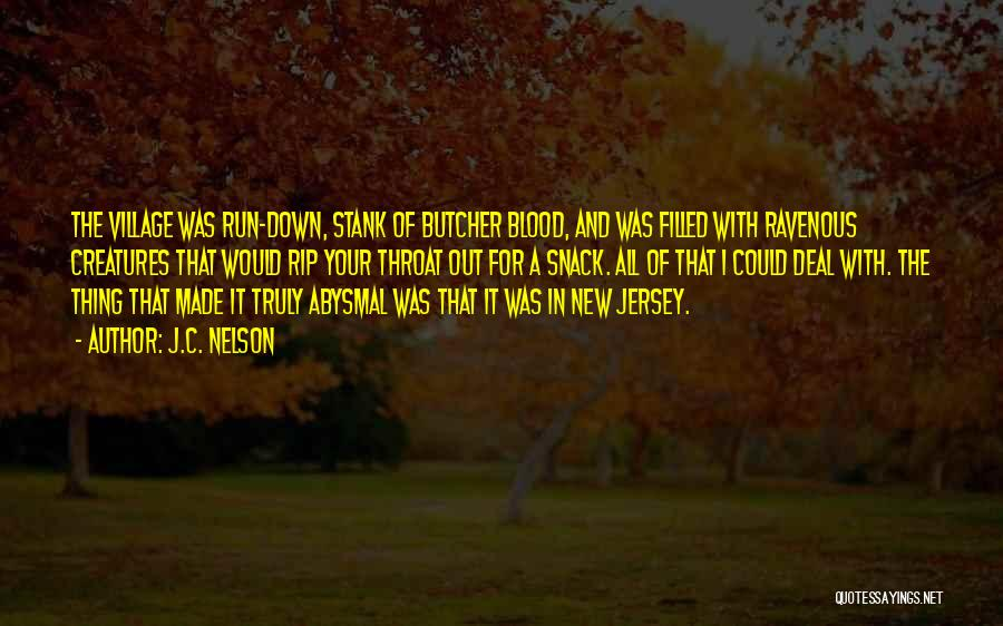 Snack Off Quotes By J.C. Nelson