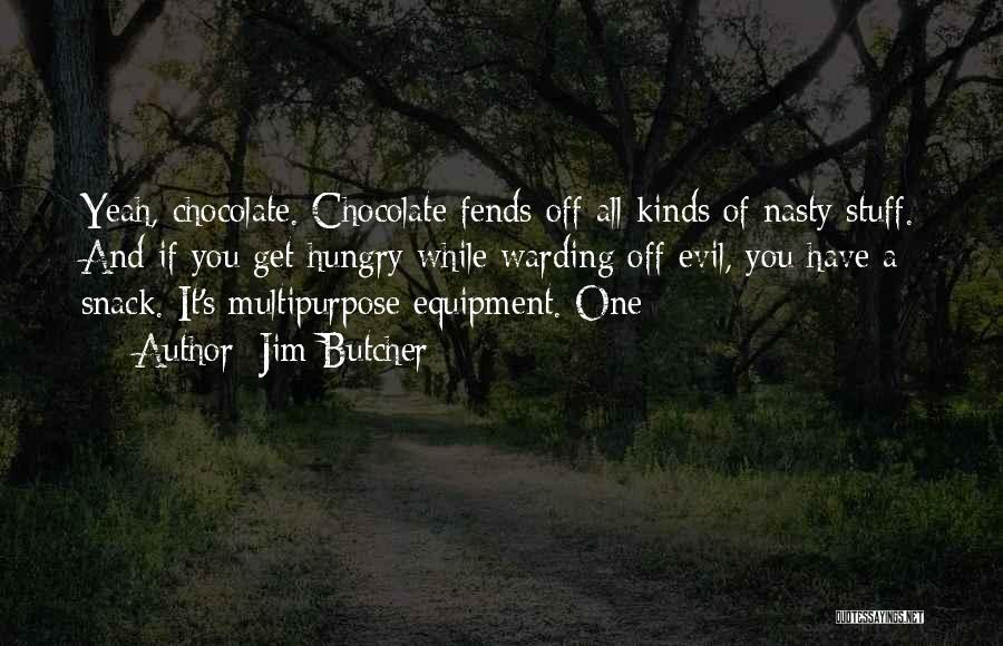 Snack Off Quotes By Jim Butcher