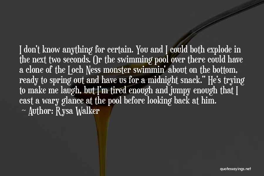Snack Off Quotes By Rysa Walker