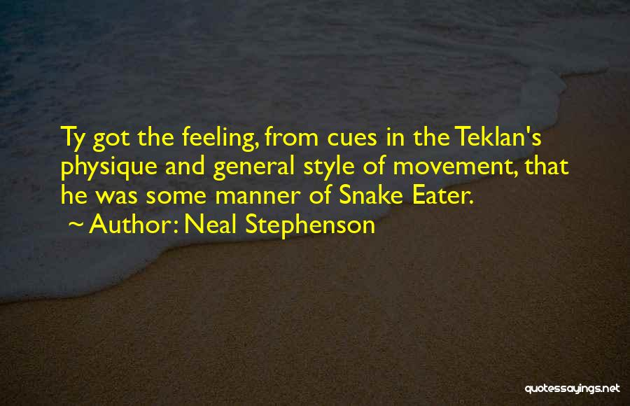 Snake Eater Quotes By Neal Stephenson