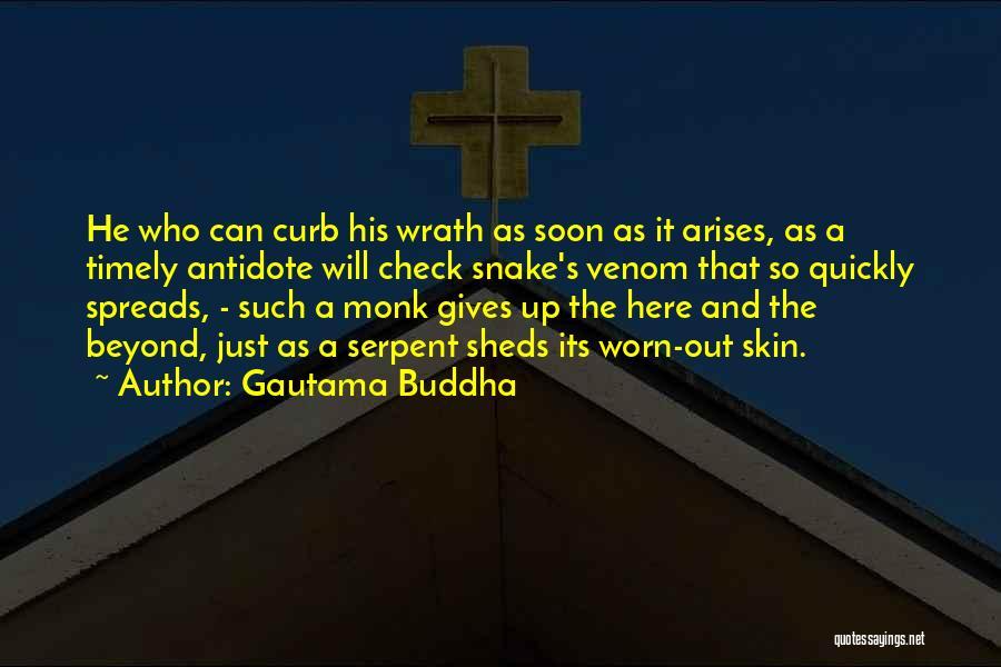Snake Venom Quotes By Gautama Buddha