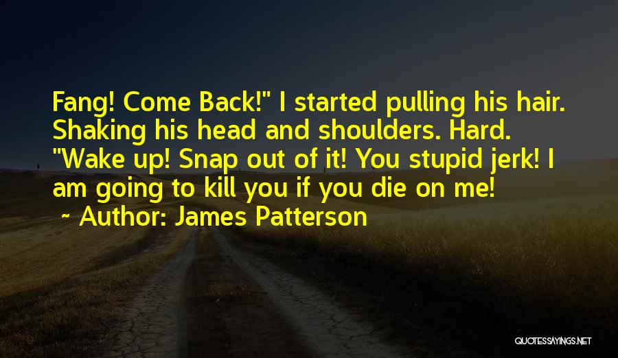 Snap Out Of Quotes By James Patterson