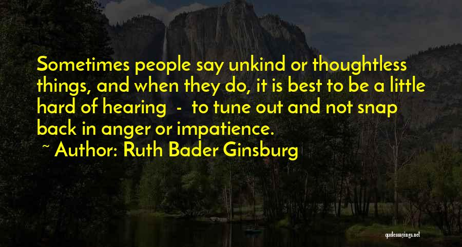 Snap Out Of Quotes By Ruth Bader Ginsburg