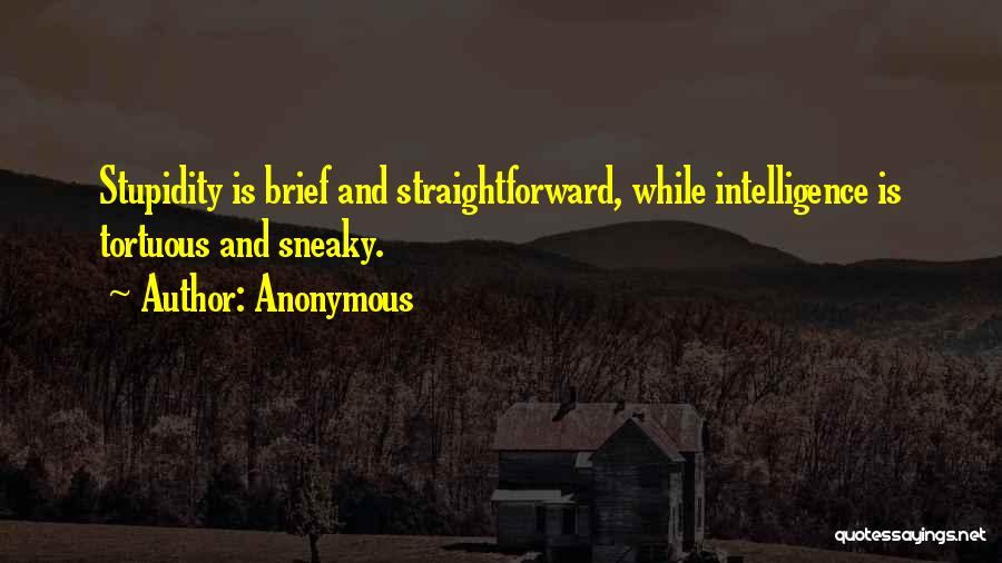 Sneaky Quotes By Anonymous